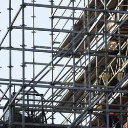 Locação de andaimes para obras
