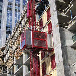 Área de vivência na construção civil