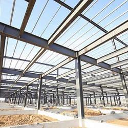 Telhado de estrutura metálica