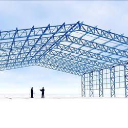 Treliça metálica para telhado