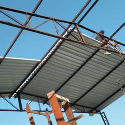 Estrutura de aço para telhado