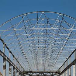 Estrutura telhado metálico