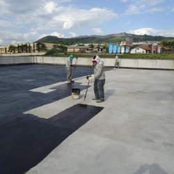 Impermeabilização de laje com manta