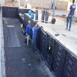 Impermeabilização de caixa d água de amianto