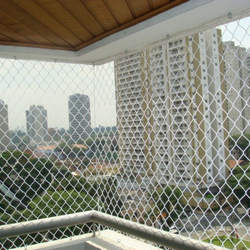 Rede de proteção para apartamento